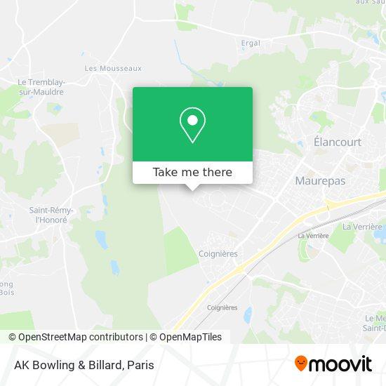 Mappa AK Bowling & Billard