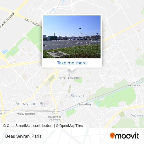 Beau Sevran mapa