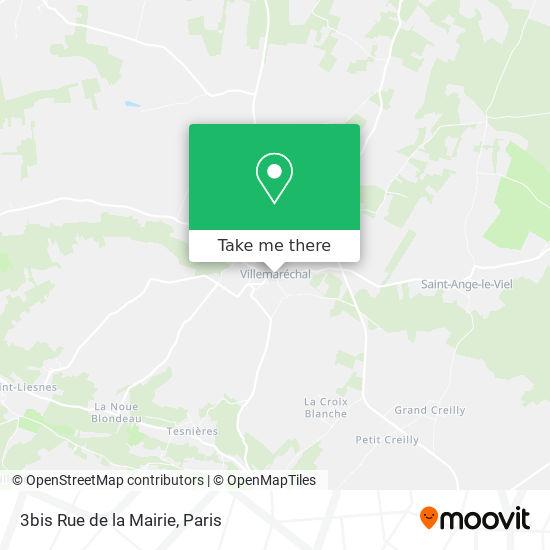 3bis Rue de la Mairie mapa