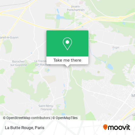 Mappa La Butte Rouge