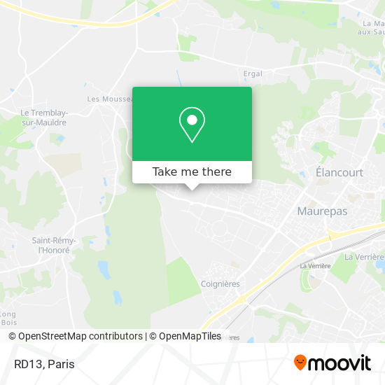 Mappa RD13