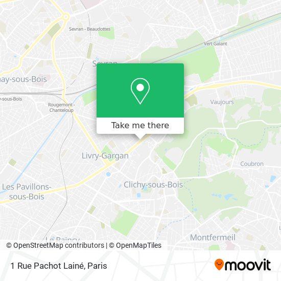 1 Rue Pachot Lainé mapa