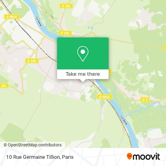 10 Rue Germaine Tillion map