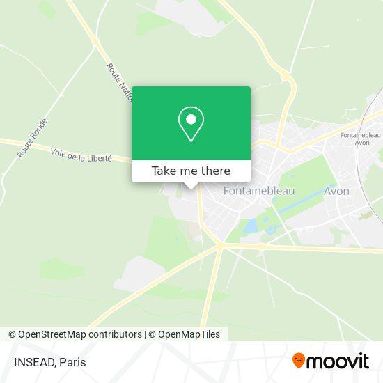 INSEAD map