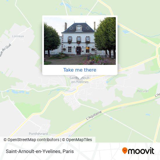 Saint-Arnoult-en-Yvelines map