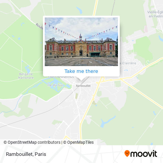 Rambouillet map