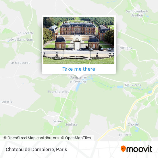 Château de Dampierre map