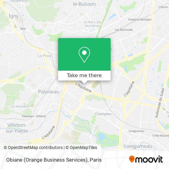 Obiane (Orange Business Services) map