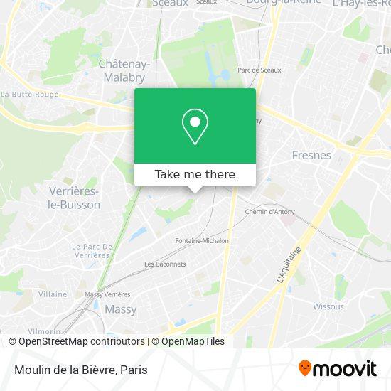 Moulin de la Bièvre map