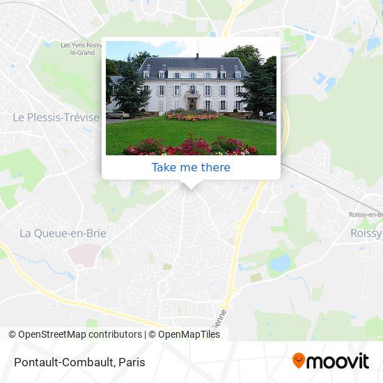 Pontault-Combault map
