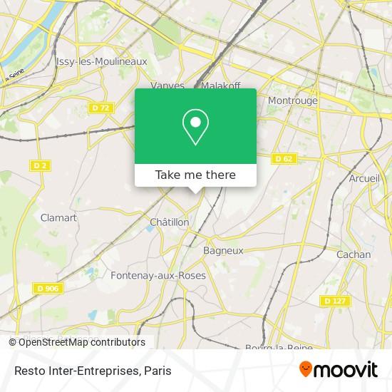 Resto Inter-Entreprises mapa