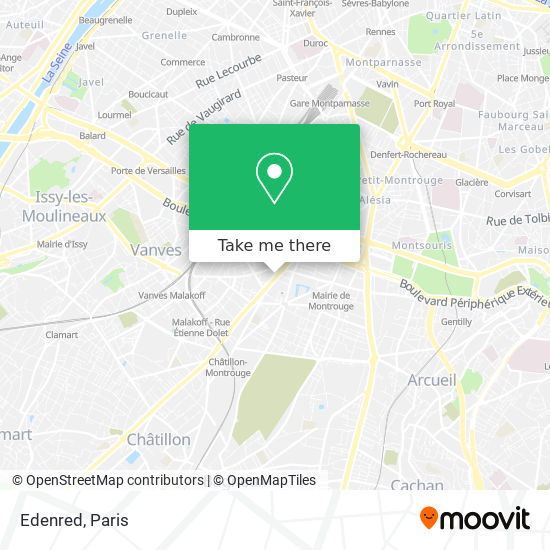Edenred map