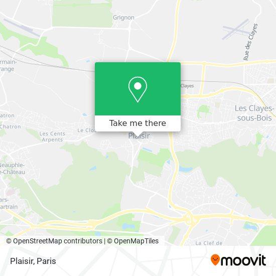 Plaisir map