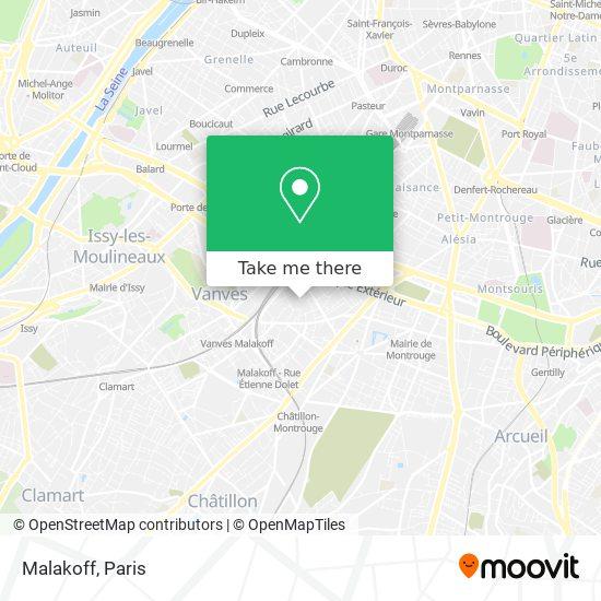 Malakoff map