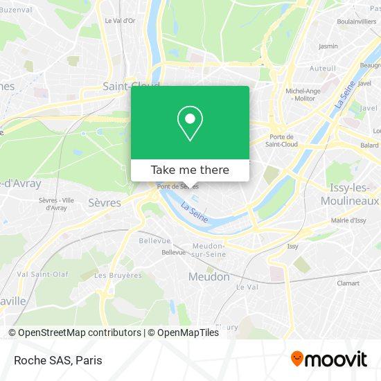 Mapa Roche SAS