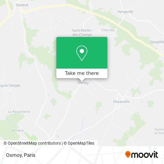 Osmoy map