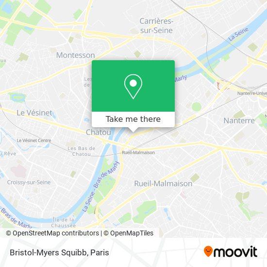 Bristol-Myers Squibb map