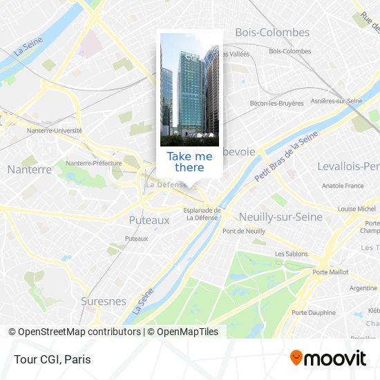 Tour CGI map