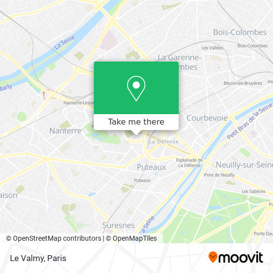 Le Valmy map
