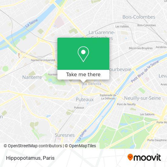 Hippopotamus map