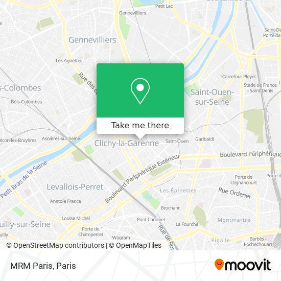 Mappa MRM Paris