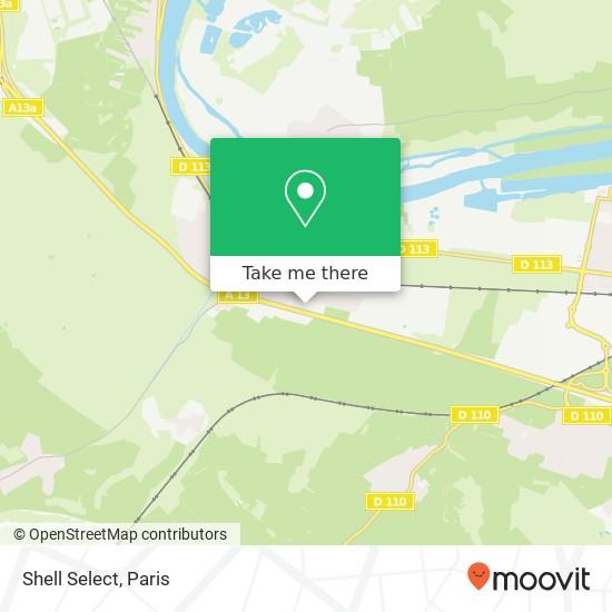 Shell Select map