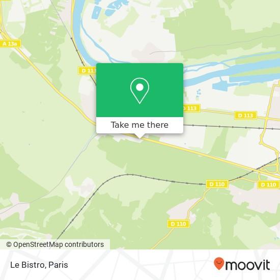 Le Bistro map
