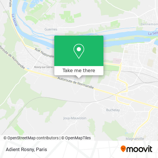 Adient Rosny mapa