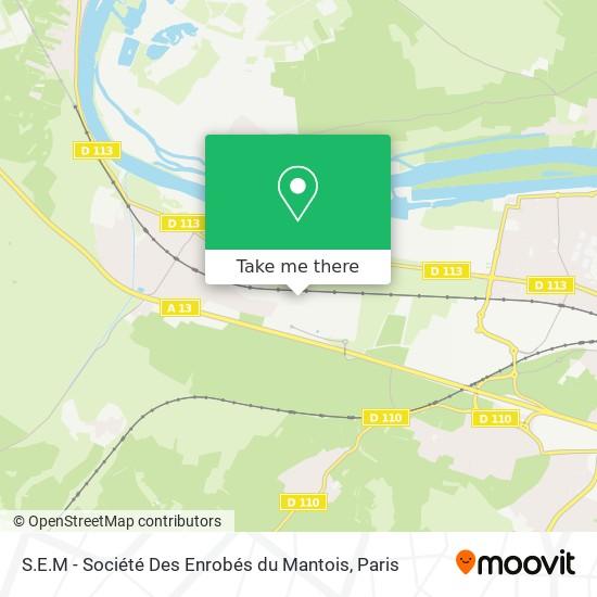 S.E.M - Société Des Enrobés du Mantois mapa