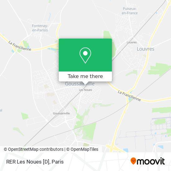 RER Les Noues [D] map