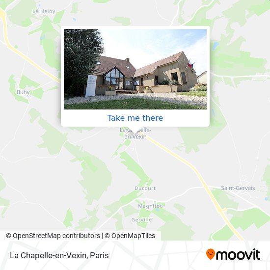 Mappa La Chapelle-en-Vexin