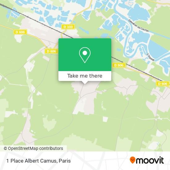 Mapa 1 Place Albert Camus