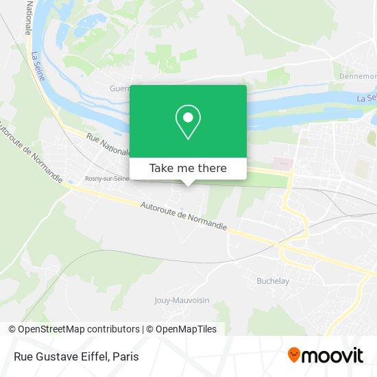 Rue Gustave Eiffel mapa