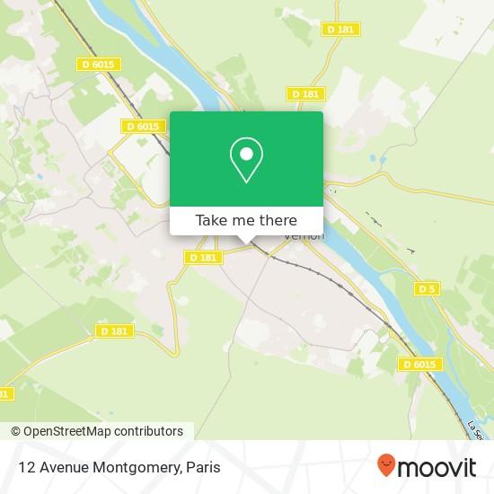 12 Avenue Montgomery map