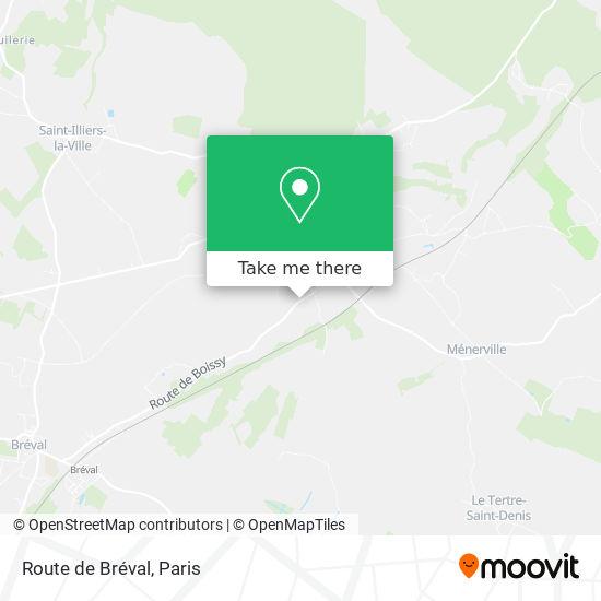 Mappa Route de Bréval