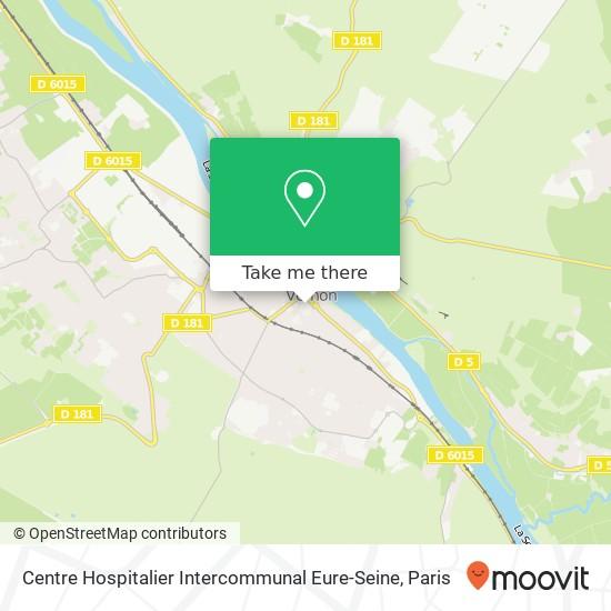 Centre Hospitalier Intercommunal Eure-Seine map