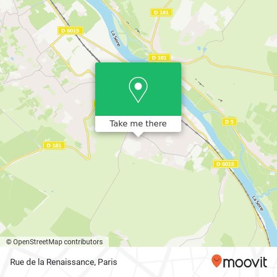 Rue de la Renaissance map
