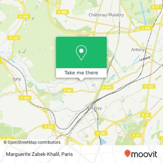 Mappa Marguerite Zabek-Khalil