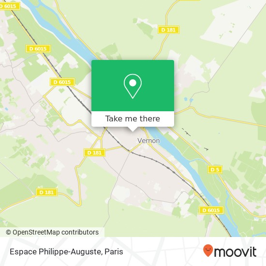 Espace Philippe-Auguste map