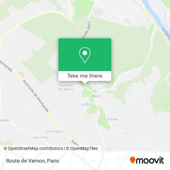 Mappa Route de Vernon
