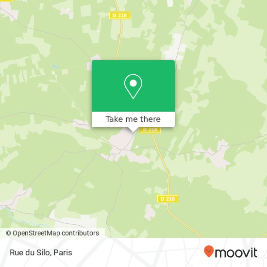 Mapa Rue du Silo