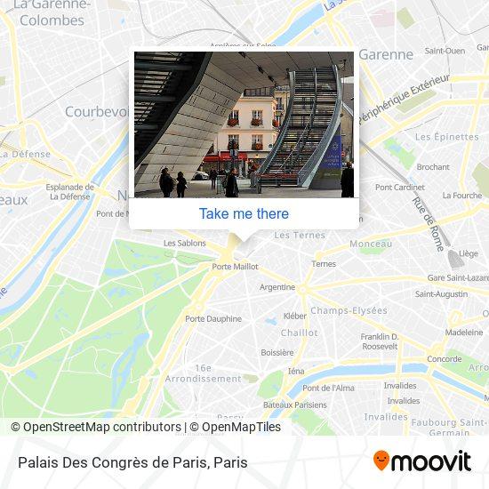 Palais Des Congrès de Paris map