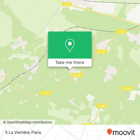 Mappa 5 La Verrière