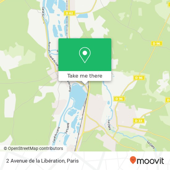 2 Avenue de la Libération mapa