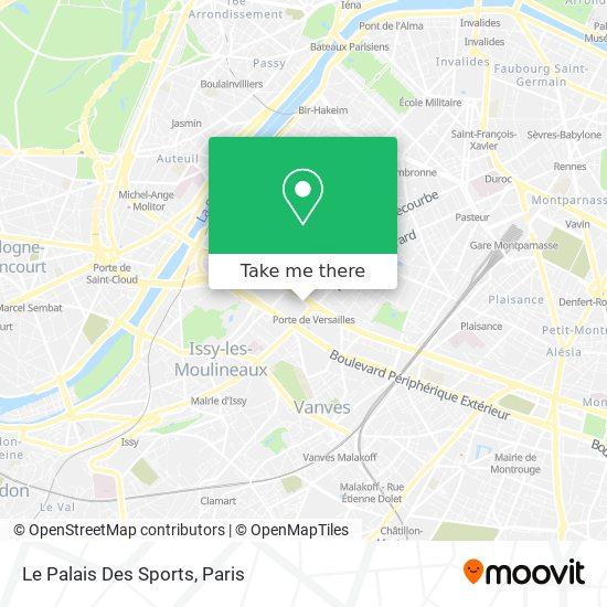 Mappa Le Palais Des Sports