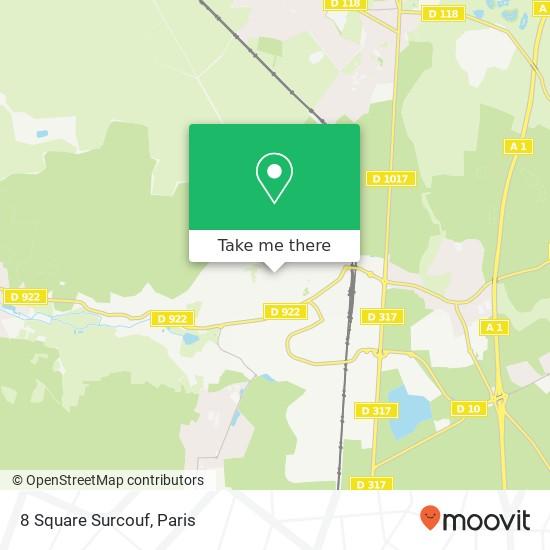 8 Square Surcouf mapa