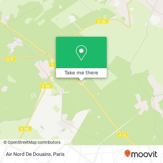 Mapa Air Nord De Douains