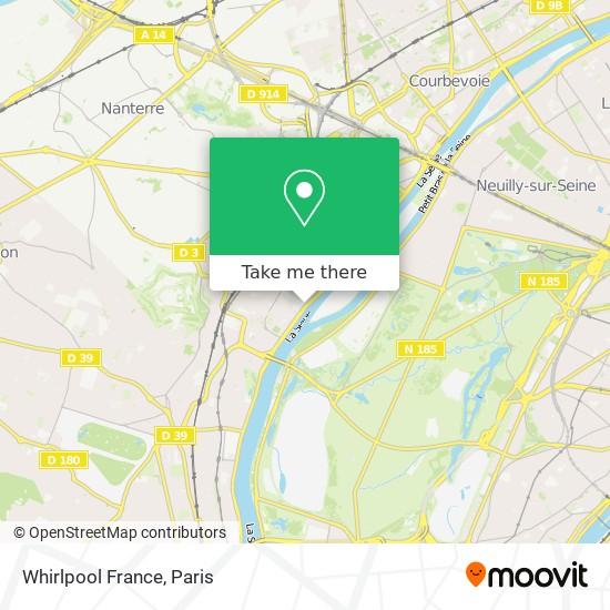 Whirlpool France map