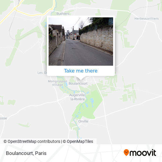 Boulancourt map