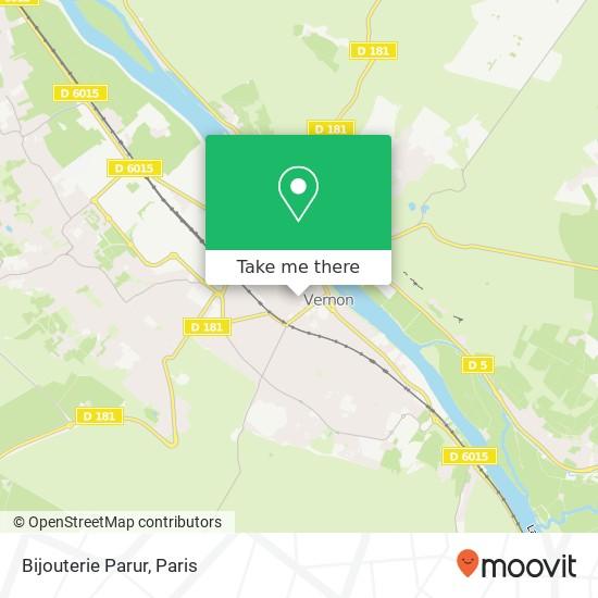 Bijouterie Parur map